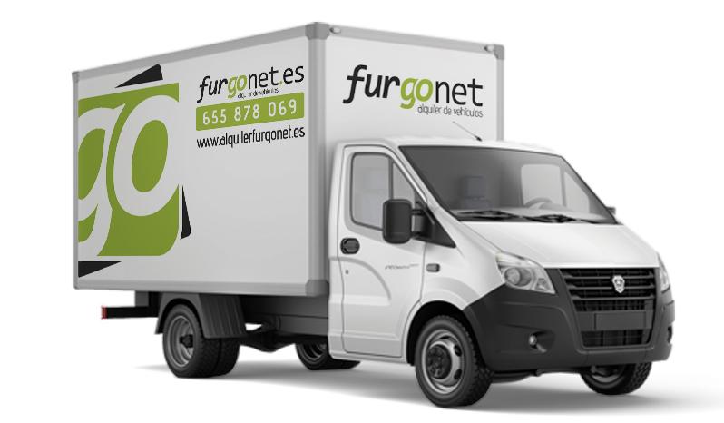 alquiler de camion en alcorcon furgonet